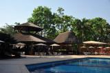 Fulani Bar by the pool at the Transcorp Hilton Abuja
