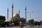 The National Mosque was built in 1984 after it was decided to move the capital of Nigeria from Lagos to Abuja