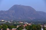 Aso Rock from the Abuja Hilton