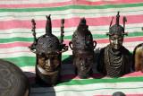 Benin-style bronze heads, Abuja Arts & Crafts Market
