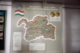 Soviet-era map of the Autonomous Region of Badakhshan