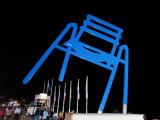 La Chaise Bleue de Sabine Géraudie