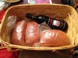 A loaf, a jug ...