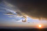 13 Sept 13 Sunset with Virga