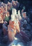 Stone Light Pillars at Bryce K Nov 1990