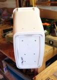 Air holes in a wastebasket