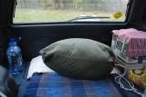 BED SYSTEM 2 : Storage of sleeping bag (4299)