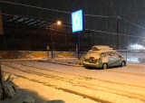 Snowy surprise in Grants Pass