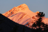 Canadian Rockies - sunrise and sunset