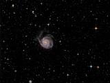 M 101, la Pinwheel Galaxy