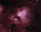 M 17, la Nébuleuse Omega