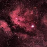 IC 1318, la Nébuleuse du Papillon