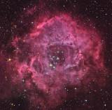 La Rosette et NGC 2244