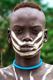Mursi people - Young man