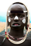 Mursi people - Young woman