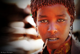 Hamer people: young girl