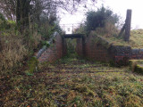 Original disused outflow built by Thomas Telford.