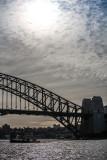 Sydney Harbour Bridge with ferry