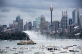 Fireboat, Manly ferry, Sydney Harbour