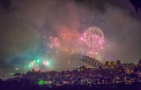 Sydney Harbour Fireworks at New Years Eve