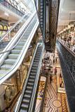 Escalators at Queen Victoria Building