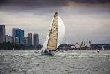 Victoire yacht and Sydney Opera House