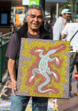 Australian aboriginal dot painting