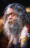 Australian aboriginal busker - Cedric