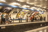 Metro at Anvers, Paris