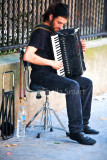 Paris accordianist