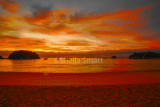 Kaiteriteri beach at sunrise