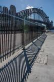Harbour Bridge and fence