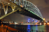 Sydney Harbour Bridge night shot