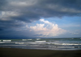 Our beach - moody in late afternoon