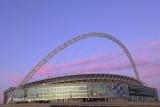 Early Morning At Wembley Stadium