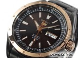 SEIKO 5 SPORTS AUTO SRP162 SRP162J1 HAND WINDING BLACK MADE IN JAPAN