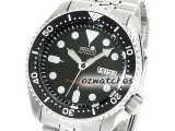 SEIKO AUTO DIVER 200M SKX007 SKX007K2 BLACK DIAL JUBILEE BAND  STAINLESS STEEL BAND