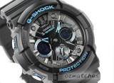 CASIO G-SHOCK MOTORCYCLE SPORTS MOTIF GA-201 GA-201BA-1A SHOCK RESISTANT