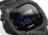 Shop Australia Online - CASIO G-SHOCK MENS DIGITAL WATCH DW-5600SL-1 DW-5600SL-1DR BLACK at ozDigitalWatch.com