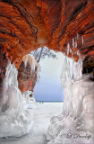 **** 81 - Lake Superior Ice Caves, Vertical