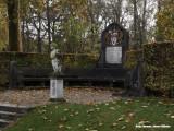 Monument in de tuin