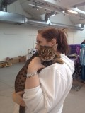 Me & Rain at a catshow