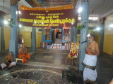 Sri Suresh swami welcoming one and alll