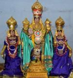 Day1 Morning - Dwjarohanam - Thiruppallandu Thodakkam Pavazakkal chapparam Veedhi Purappadu - Mudhal Thiruvanthathi Sevai
