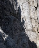 Shadow on the rock