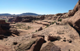 Above Courthouse Towers, Arches NP