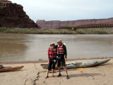 About to start just north of the bridge going into Moab
