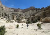 Below Tarantula Mesa upper cliff band