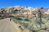 Approaching Capital Reef NP and the 'Waterpocket fold'