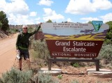 We exit Grand Staircase-Escante National Monument